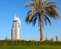 Взгляд гостиницы адрес в моле Дубай Стоковая Фотография RF