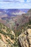 Взгляд гранд-каньона бесконечный Стоковые Фотографии RF