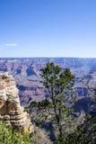 Взгляд гранд-каньона, национального парка, Аризоны Стоковые Изображения