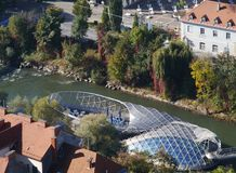 Взгляд Граца в Австрии Стоковое фото RF