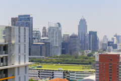 Взгляд глаза птицы Бангкока Стоковые Фото