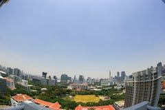 Взгляд глаза птицы Бангкока Стоковые Изображения