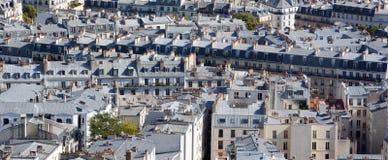 Взгляд глаза птицы Парижа Стоковое Изображение RF