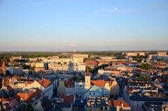 Взгляд Гливица в Польше стоковые фото