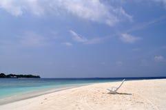 Maldivian пляж Стоковая Фотография