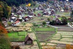 Взгляд деревни стоковые фото