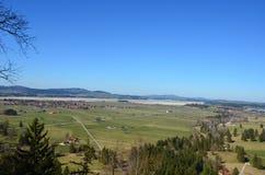 Взгляд деревни Fussen Стоковое фото RF