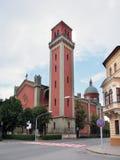 Новая евангелическая церковь в Kezmarok Стоковое Изображение RF