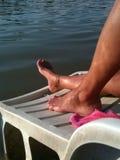 Взгляд летнего времени на женщине Стоковая Фотография RF