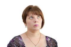 Взгляд женщин к верхней части Стоковая Фотография