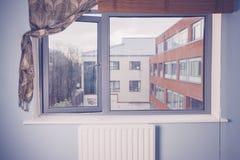 Взгляд жилого квартала Стоковое Фото