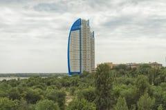 Взгляд жилого комплекса Стоковое Изображение