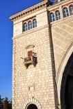 Взгляд замка на Реке Волга около Uglich Стоковые Фото
