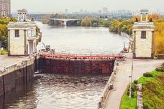 Взгляд замка на реке Стоковое Фото