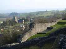 Взгляд замка Стоковые Фотографии RF