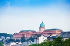 Взгляд замка Buda в Будапеште стоковая фотография rf