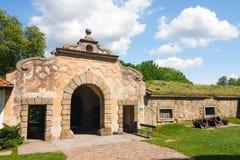 Взгляд замка Nowy Wisnicz Стоковые Фотографии RF