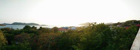 Взгляд захода солнца Стоковая Фотография RF