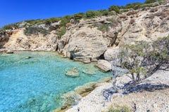 Взгляд залива Крита Греция Стоковые Изображения RF