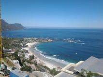 Взгляд залива кулачков, Кейптауна Стоковое Изображение RF