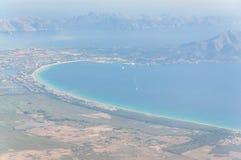 Взгляд залива Alcudia Стоковая Фотография