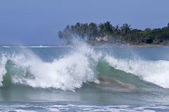 Взгляд залива Arugam, Шри-Ланки Стоковая Фотография RF