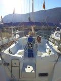 Взгляд залива Boko-Kotor Стоковое фото RF
