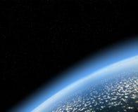 Взгляд земли от космоса иллюстрация штока
