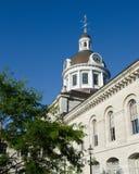 Взгляд здание муниципалитета Кингстона вкосую Стоковая Фотография
