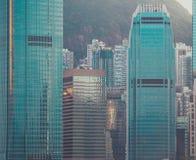 Взгляд здания и неба небоскреба Стоковые Фото