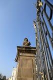 Взгляд здания президента республики в Праге, чехии Стоковая Фотография RF