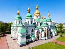 Взгляд здания собора Sophia Святого в Киеве Стоковая Фотография