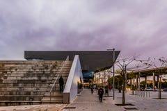 Взгляд здания Dhub от  vila Carrer à Стоковое фото RF