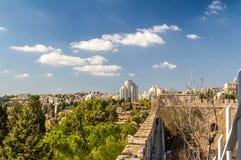 Взгляд Иерусалима в Израиле Стоковое Фото