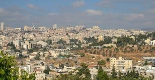 взгляд Иерусалима панорамный Стоковые Изображения RF