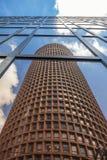 Взгляд известной башни в Лионе Стоковая Фотография