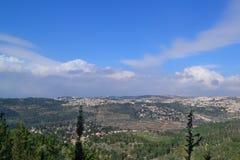 взгляд Израиля Стоковое фото RF