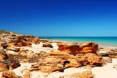 Взгляд Индийского океана, западной Австралии Стоковые Изображения