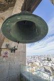 Взгляд исторического центра Кадиса от взятия колокольни внутри Стоковые Изображения