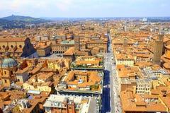 Взгляд Италия болонья сценарный стоковые фото