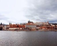 Взгляд и Gradchany ( Прага Castle) стоковое фото