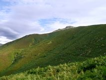 Взгляд каменного Артура, района озера Стоковое фото RF