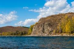 Взгляд каменного леса и реки Стоковые Фотографии RF