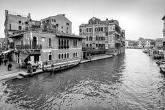 Взгляд канала Венеции в Италии Стоковое Изображение RF