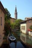 Взгляд канала, Италия Стоковые Фотографии RF