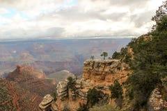 Взгляд каньона Стоковое Изображение RF