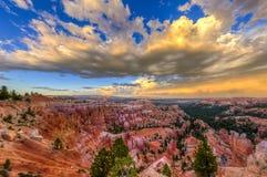 Взгляд каньона Bryce стоковые изображения rf