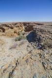 Взгляд каньона Sesriem, Намибии Стоковые Изображения RF