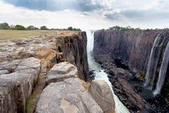Взгляд каньона Victoria Falls Стоковые Фото