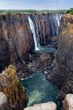 Взгляд каньона Victoria Falls Стоковое фото RF